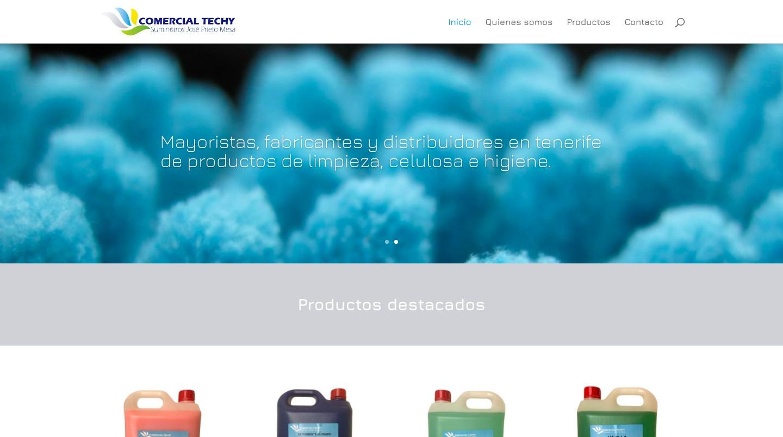 Comercial Techy - Suministros José Prieto Mesa