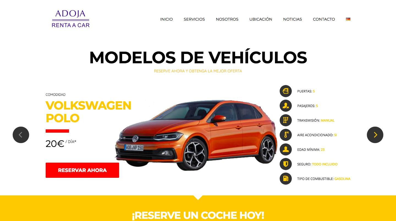 Adoja Rent a Car - Alquiler de coches en Puerto de la Cruz con Renta a Car Adoja