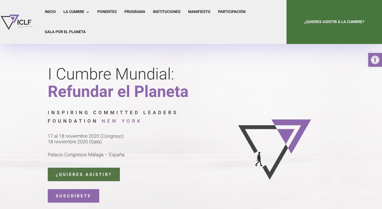 Cumbre Mundial Refundar el Planeta