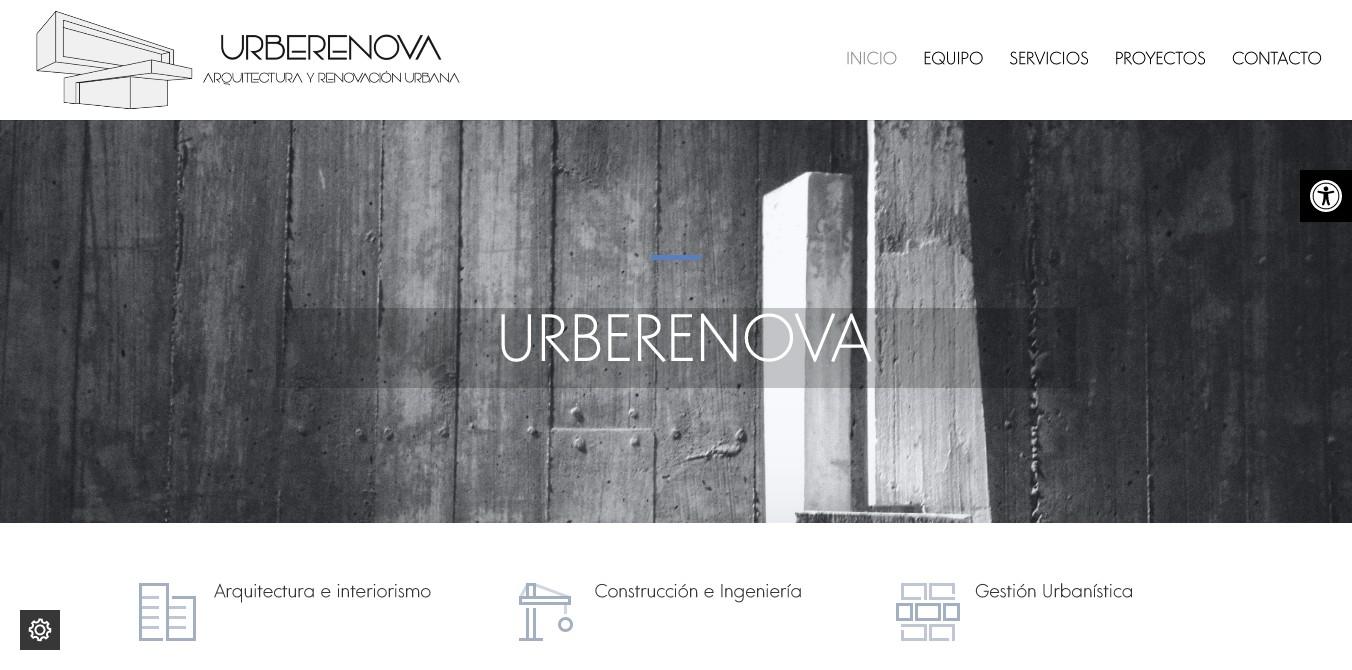 Urberenova, Arquitectura y Urbanismo